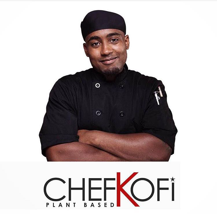 Chef Kriss Kofi